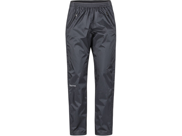 Marmot PreCip Eco Pantalones Largos Cremallera Completa Mujer, black